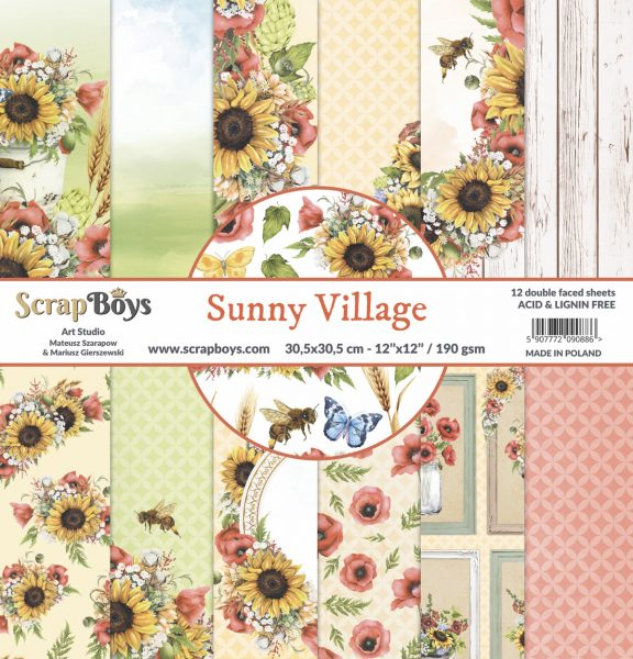 scrapboys-sunny-village-12×12